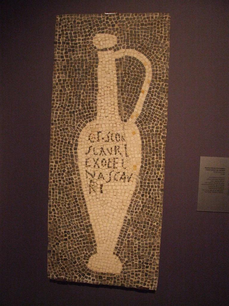Garum mosaico pompei
