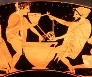 formaggio antica grecia
